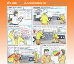 Q-Stop Health and Safety Cartoon