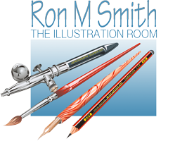 Ron M Smith's The Illustration Room